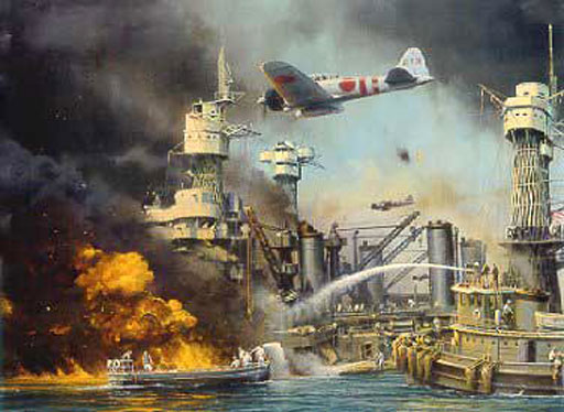 the second world war and the japanese strike on pearl harbour
